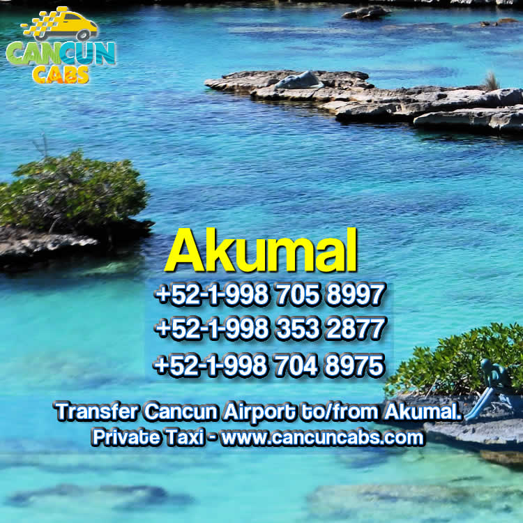 Cancun Airport transfer to Akumal