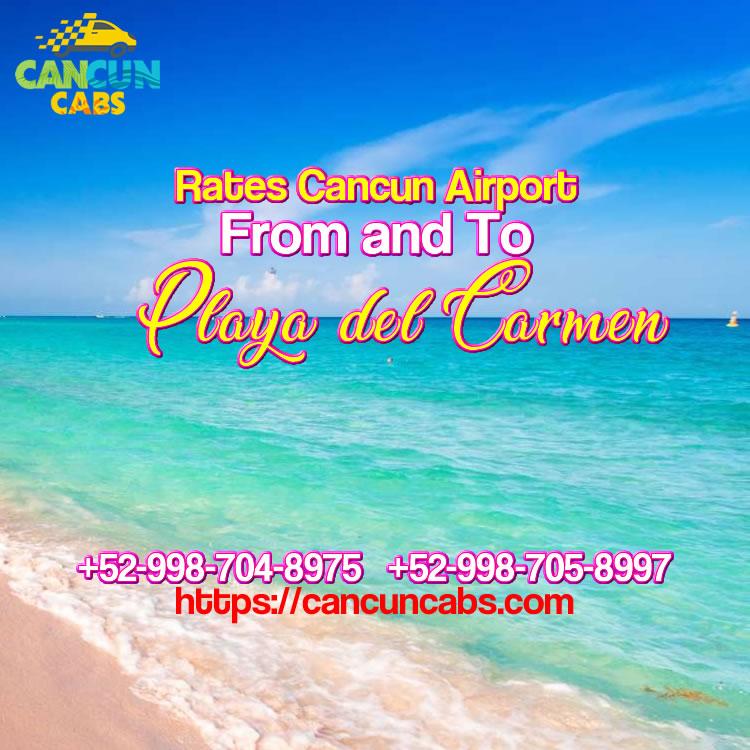 Cancun Airport transfer to Playa del Carmen